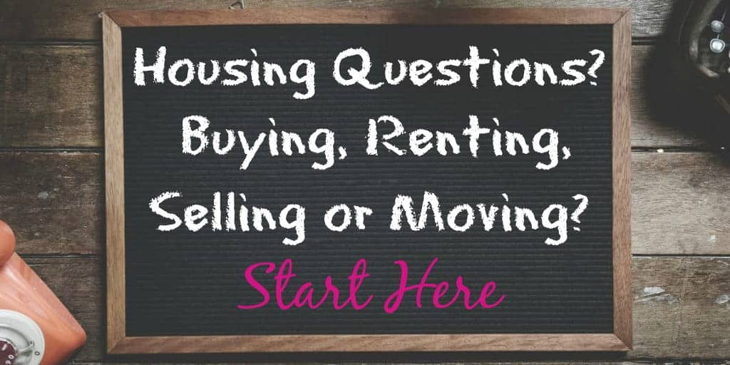 Questions On Housing - Buy, Rent, Sell, Move? Start Here WomenWhoMoney