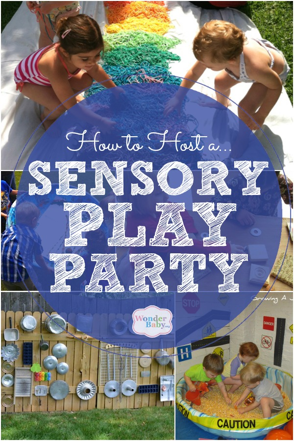 When Do The Toddler Years Get Easier How To Host A Sensory Play Party For Visually Impaired