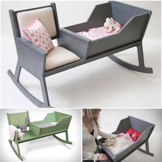 DIY Creative Ideas Wonderful DIY Hammock Type Baby Swing