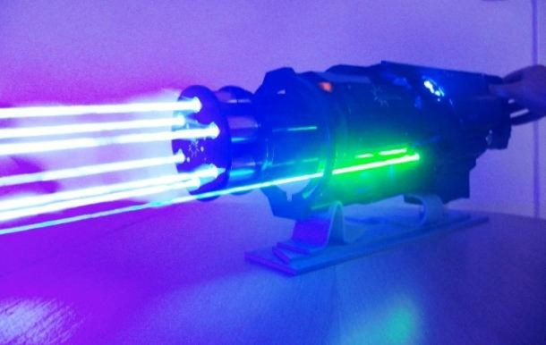 Guy Creates Iron Mans Laser Gun At Home