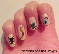 Insect Nail Art  WonderfulWolf