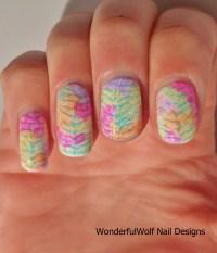 Zebra Stripe Nail Art  WonderfulWolf