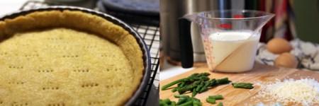 Tart of Asparagus and Tarragon Makings