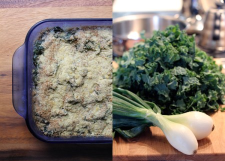Healthy Kale Gratin