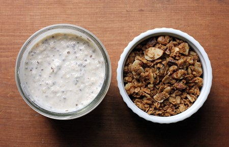 Granola and Refrigerator Oats