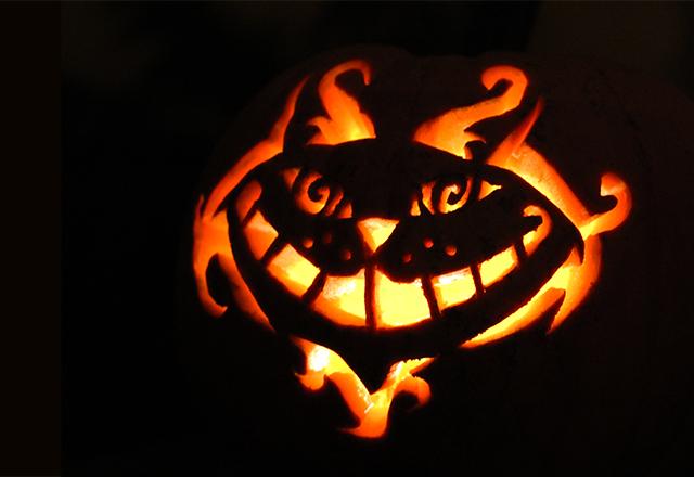 Pumpkin Carving in Wonderland: The Cheshire Cat » Wonderland Kitchen