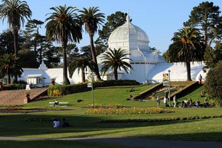 Golden Gate Park Flower Conservatory