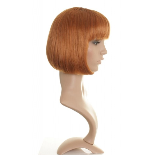 Bob Wigs Halloween May Straight Ginger Bob Style Wig Wonderland Wigs