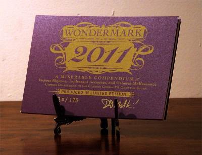 2011 Wondermark Calendar