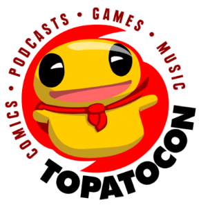 this is the logo for the event known colloquially as 'topatocon'