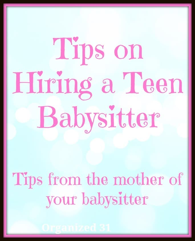 Babysitter Information Printable - babysitting information sheets