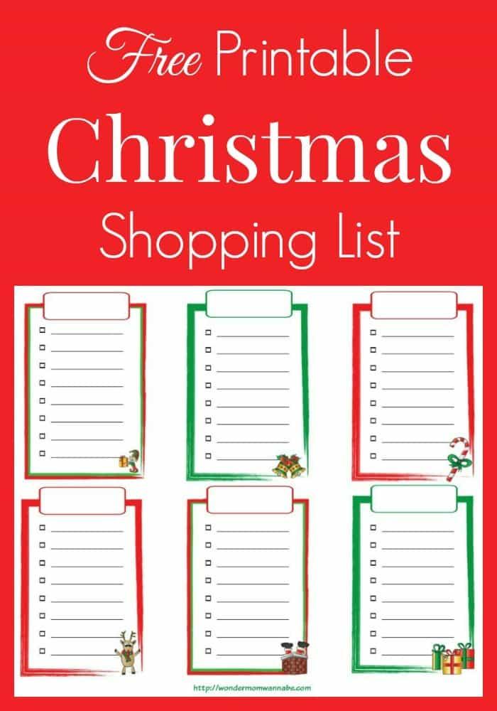 shopping list maker free