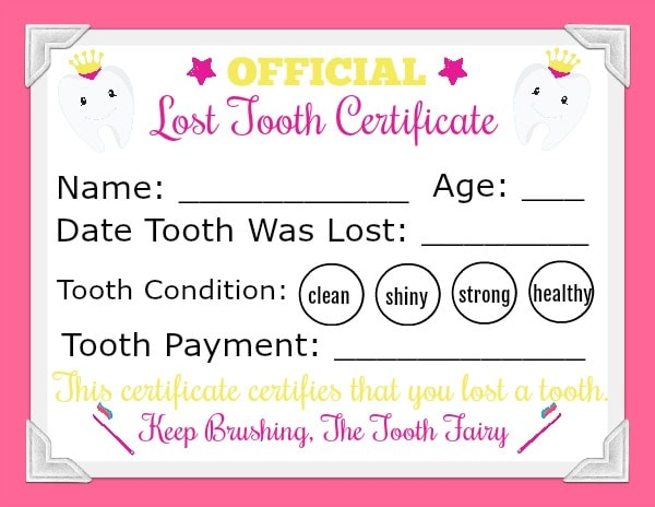 picture regarding Tooth Fairy Card Printable identified as Blue Enamel Fairy Letter With Envelope Printable To start with Misplaced