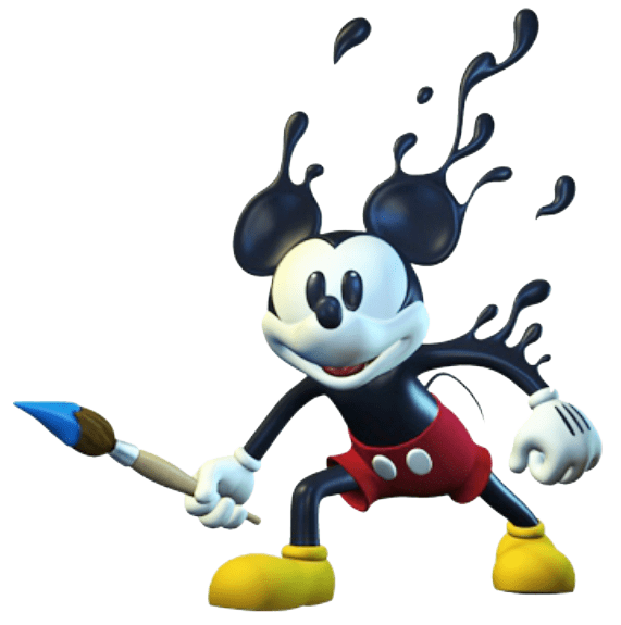 3d Art Street Wallpapers Epic Mickey Clipart