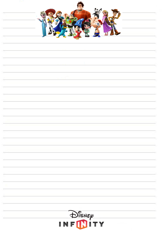 disinfinitystationeryjpg (562×793) Printable Stationery - free lined paper to print