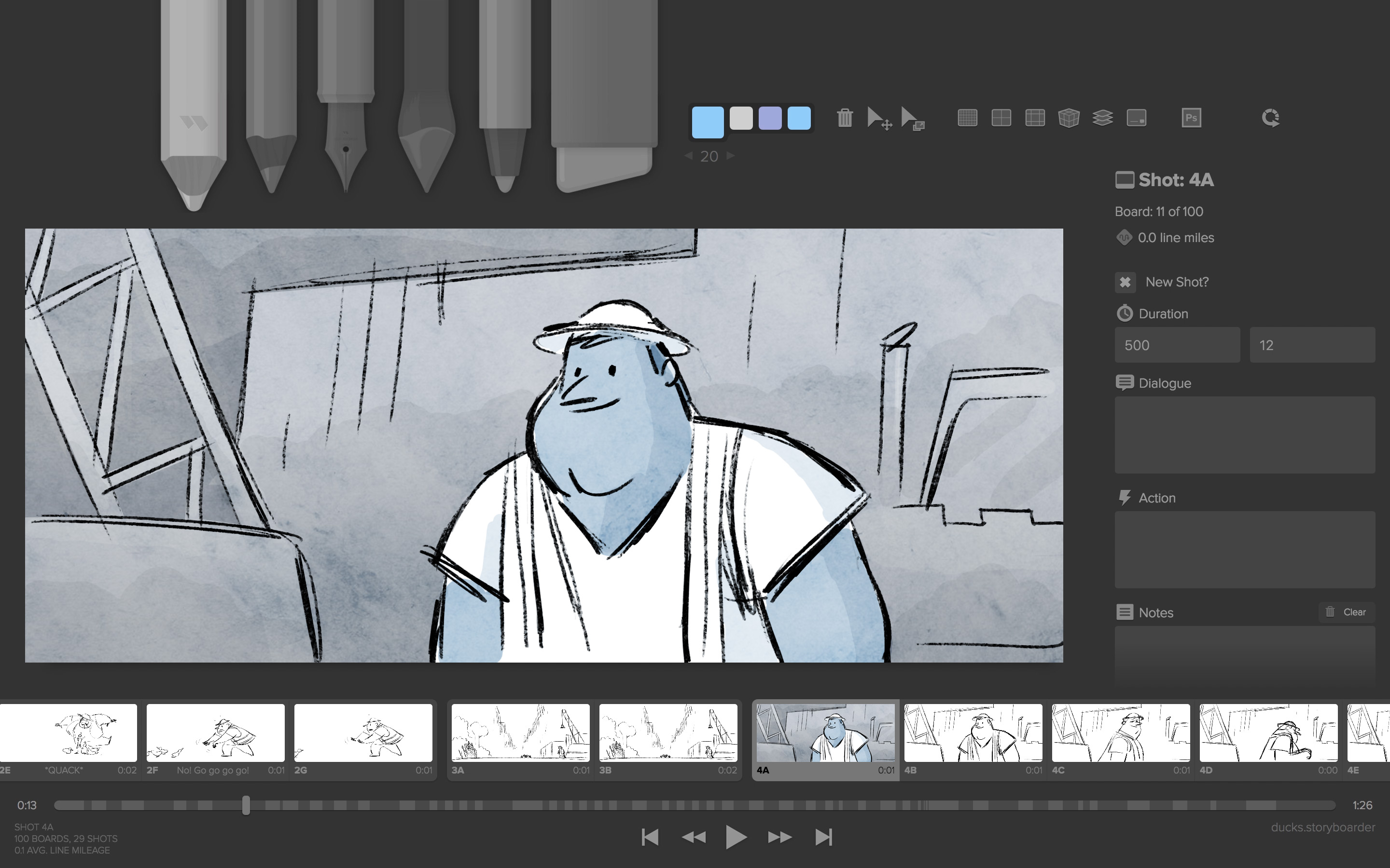 Kostenloses 3d Programm Storyboarder The Best And Easiest Way To Storyboard Wonder Unit