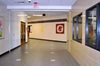 Katy High School and open Corridor - Won-Door