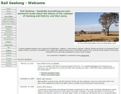 Rail Geelong