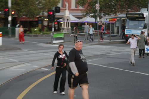 Fat racist guy runs out of puff