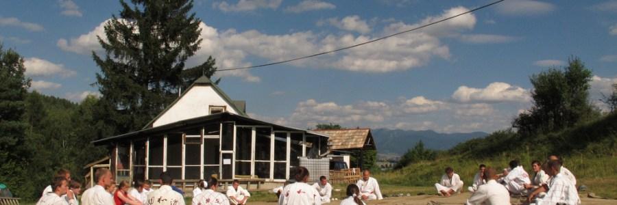 Vasaros stovykla slovakijoje 2013