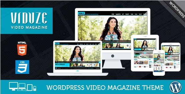 Viduze - Video WordPress Theme 190 - WooCrack