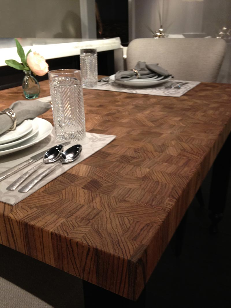 Large maple with wenge butcher block countertop in pennsylvania - Large Maple With Wenge Butcher Block Countertop In Pennsylvania Zebrawood Butcher Block Table Top Download