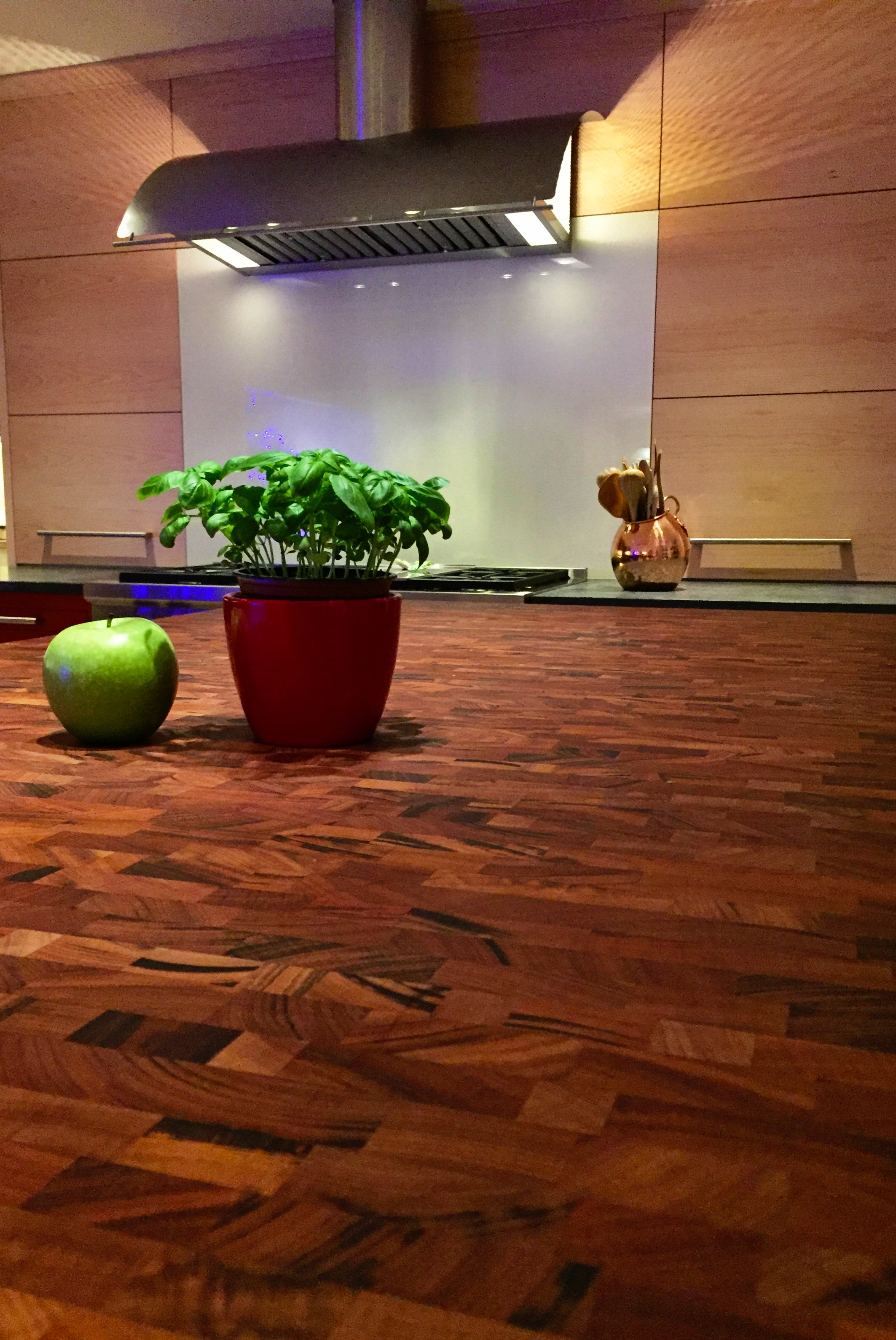 Large maple with wenge butcher block countertop in pennsylvania - Large Maple With Wenge Butcher Block Countertop In Pennsylvania Tigerwood Butcher Block Countertops Download