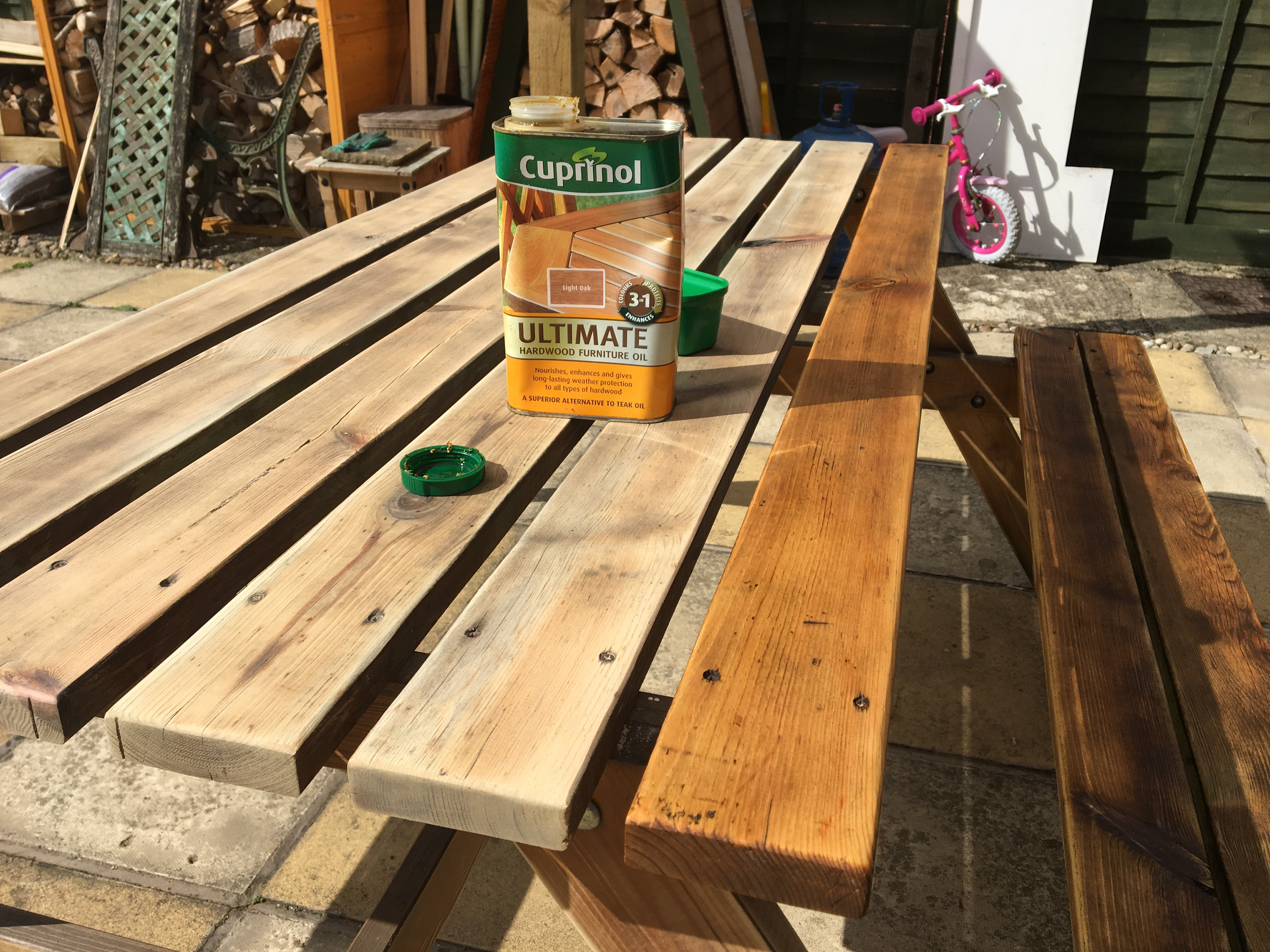 How To Restore Garden Furniture Wood Create