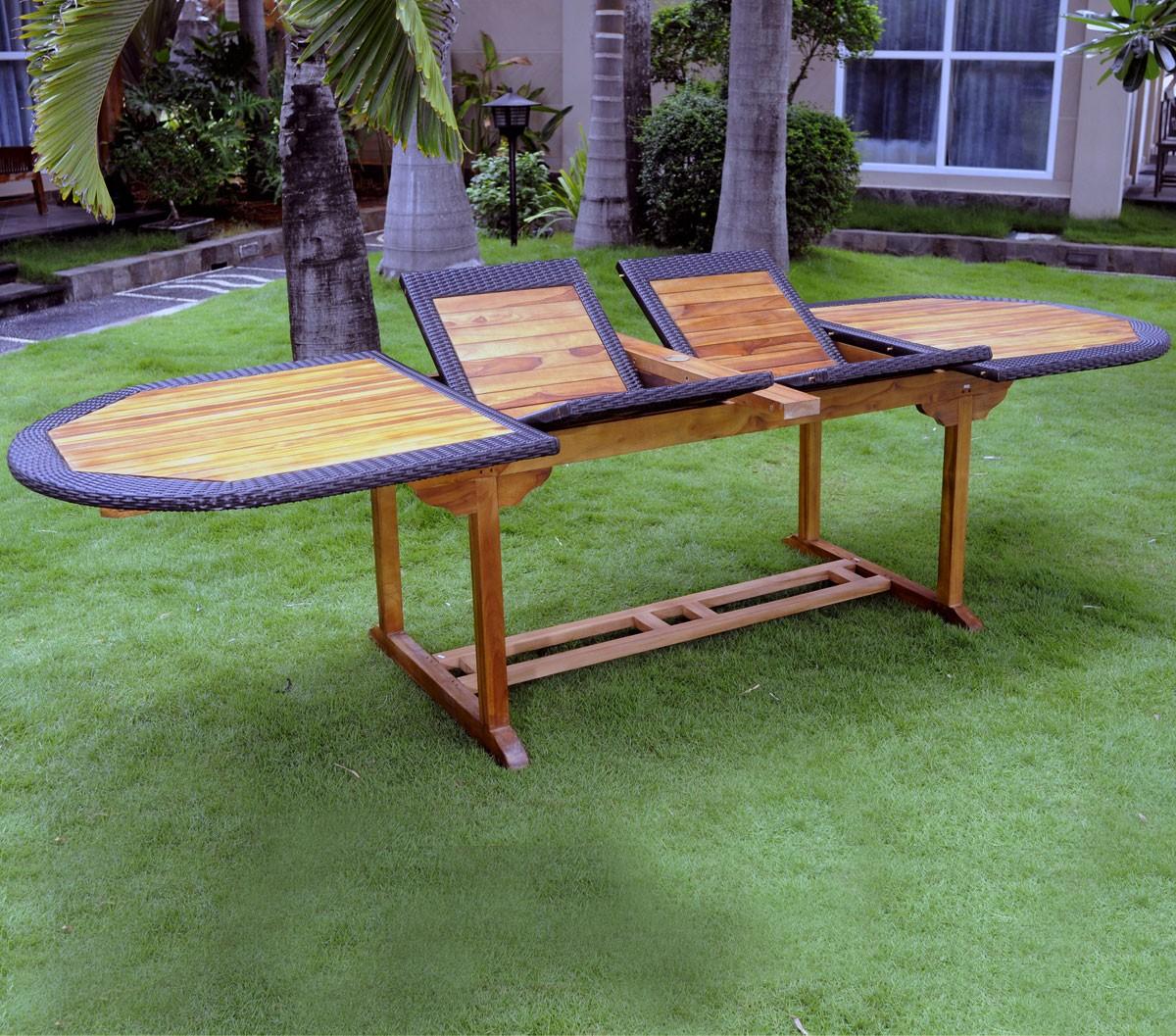 Salon De Jardin Groupon | Intermarché Table De Jardin