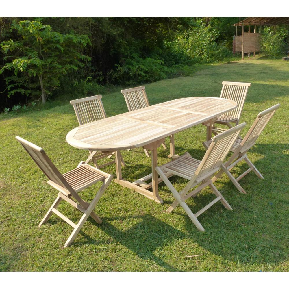 Salon Jardin Teck Brut | Table Teck Exterieur Beautiful Table Teck ...