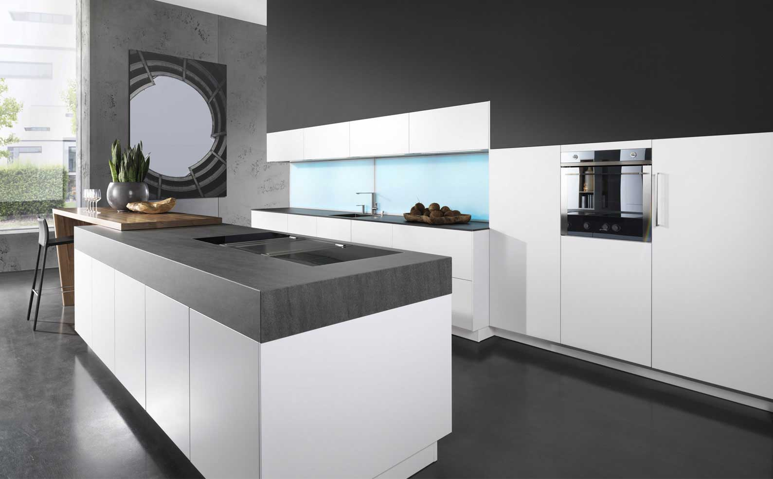Hoogglans Keuken Forum Cambia Kitchen Rational Wood Furniture Biz