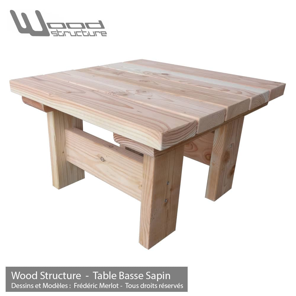 Mobilier De France Table Basse Table Basse Sapin