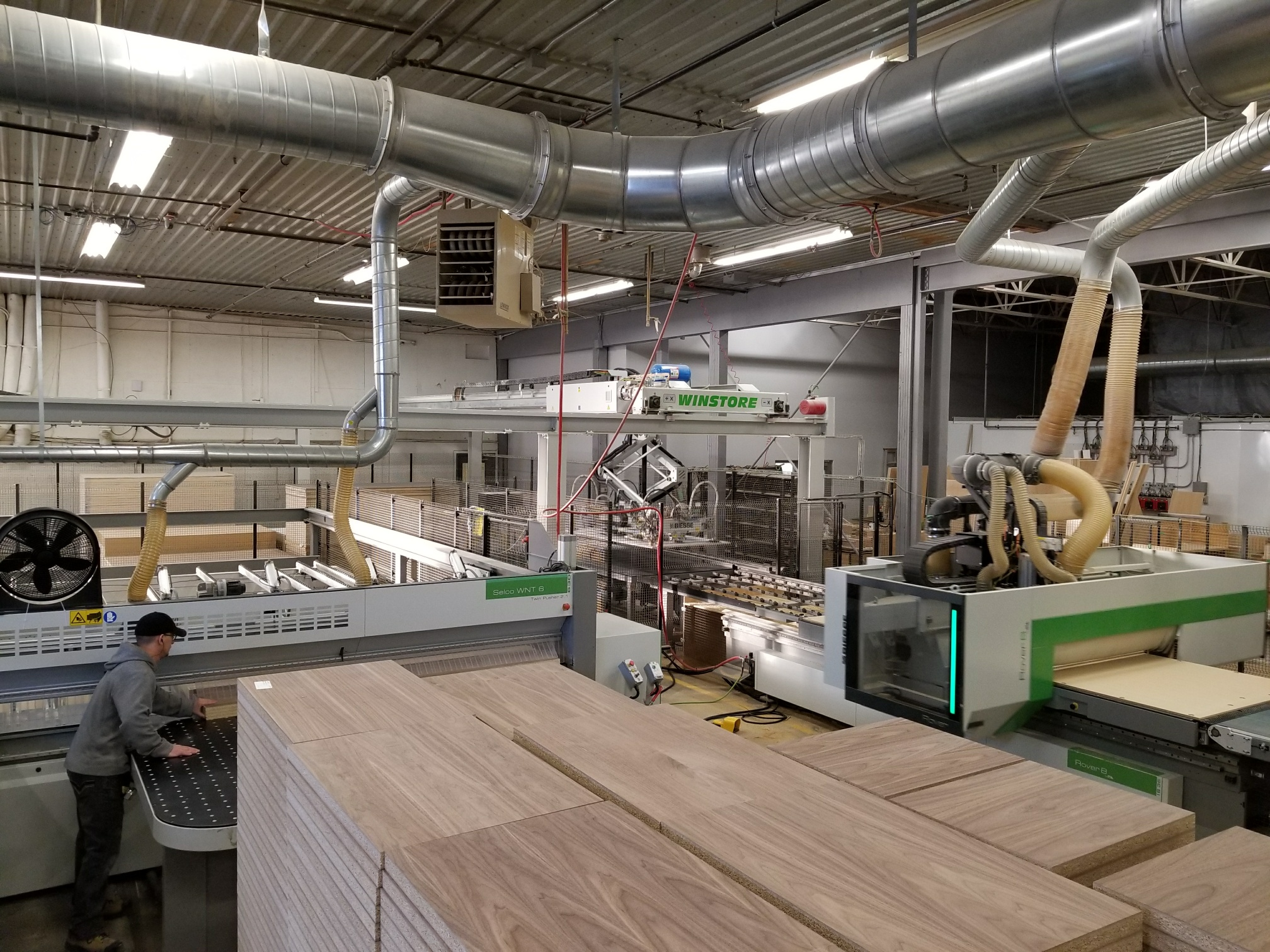 Furniture Manufacturers Ontario Biesse Technology Helps Chervin To Grow Woodandpanel
