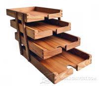 Wooden Desk Tray Plans  WoodArchivist