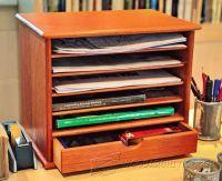 Wooden Desk Tidy Plans  WoodArchivist
