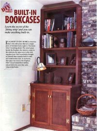 Built In Bookcases Plans Picture   yvotube.com