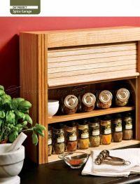27 Innovative Woodworking Plans Spice Rack | egorlin.com