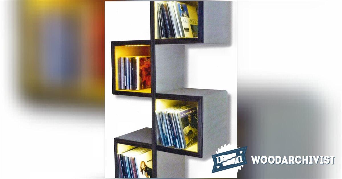 Wall Bookshelf Plans O Woodarchivist
