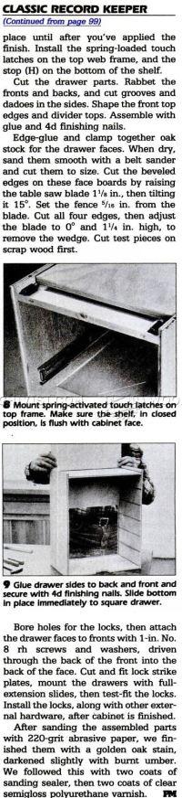 File Cabinet Plans  WoodArchivist