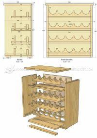 Wine Rack Cabinet Plans | AndyBrauer.com