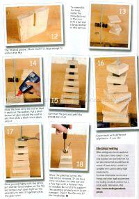 Table Lamp Plans  WoodArchivist