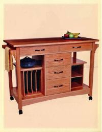 Kitchen Work Station Table - Home Safe