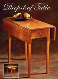 Drop Leaf Table Plans  WoodArchivist