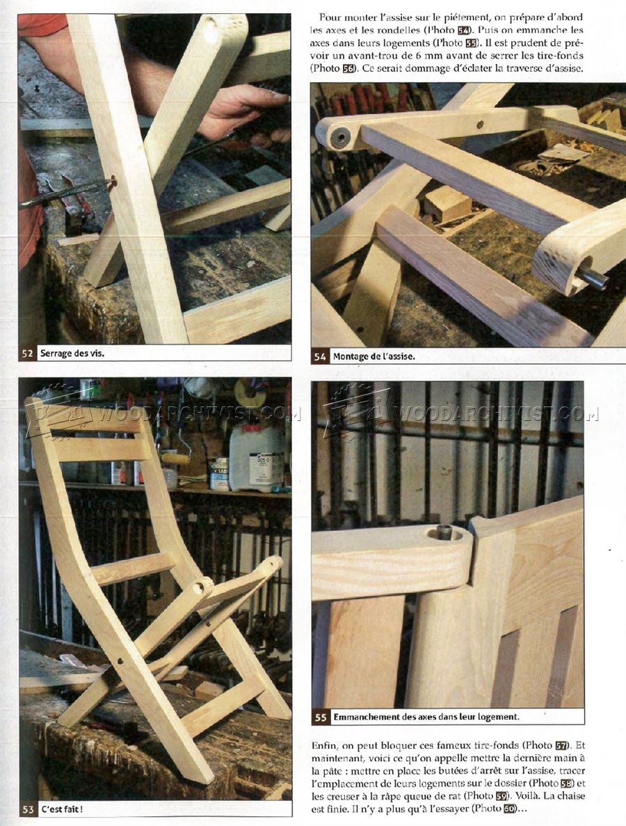 Wooden Cabinet Outdoor Folding Chair Plans • Woodarchivist
