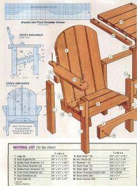 Childrens Adirondack Chair Plans  WoodArchivist
