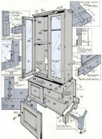 Small Gun Cabinet Plans | vip-seo.lima-city.de