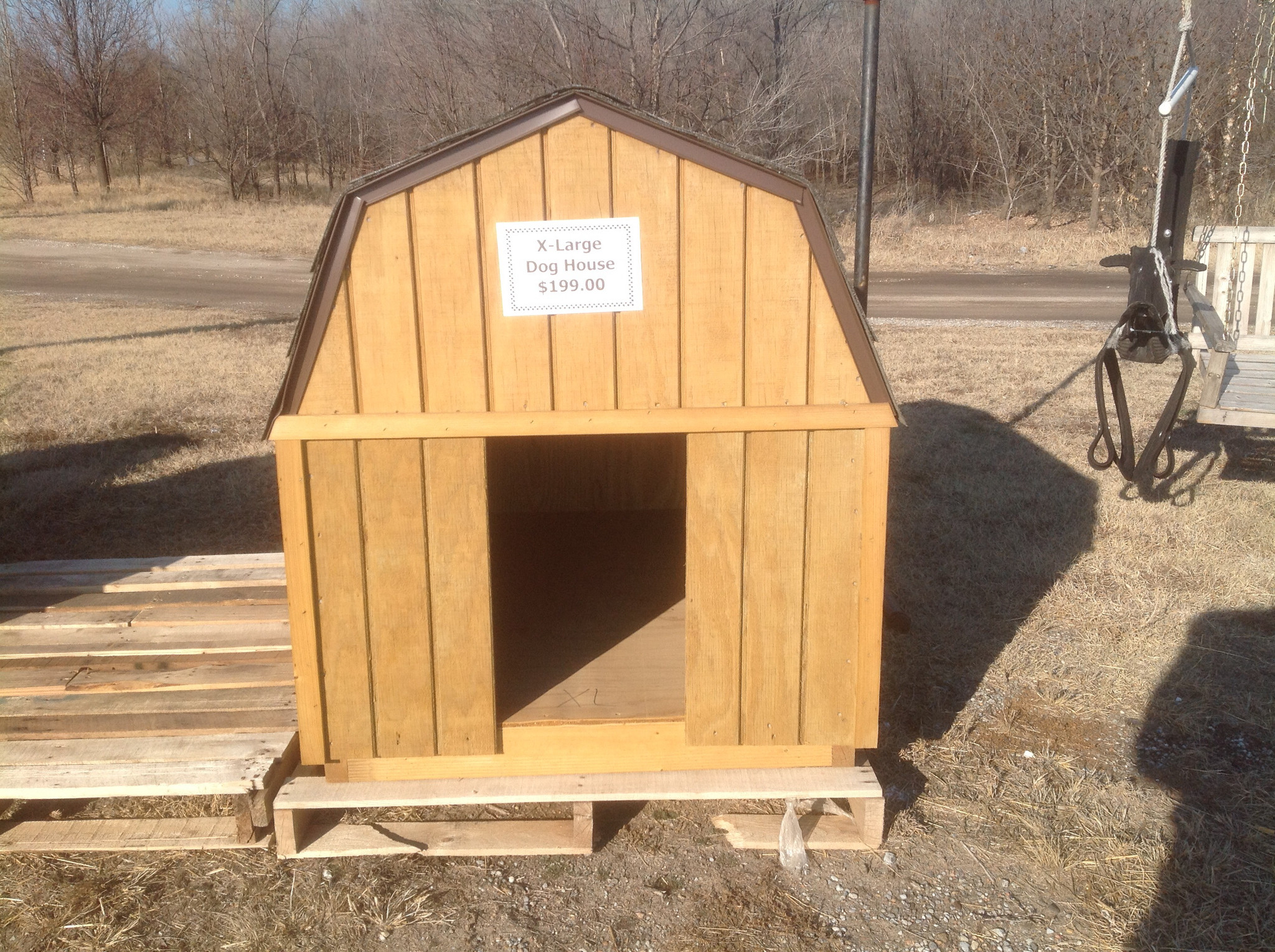 Dog House Wooden Dog House