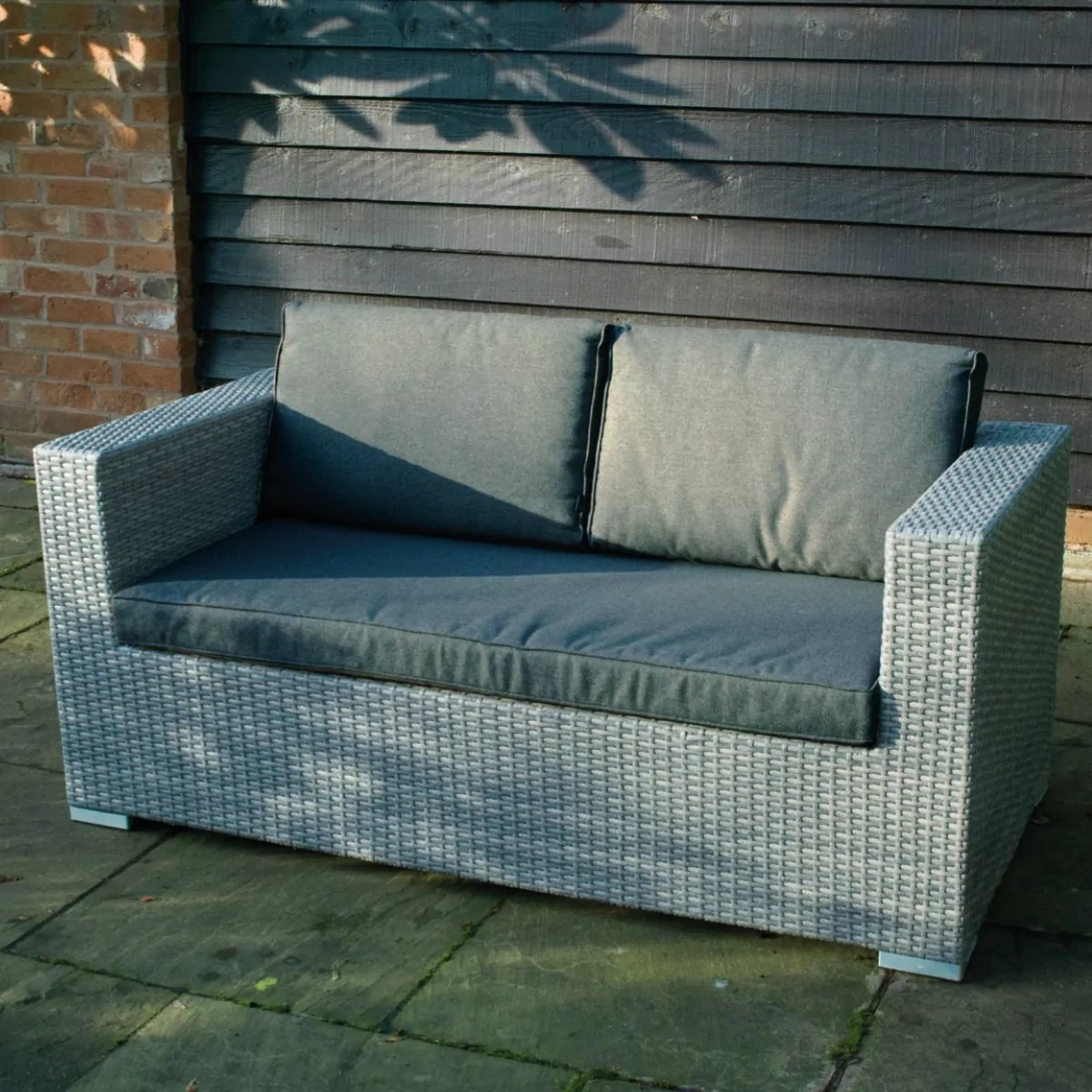 2 Seater Rattan Sofa Uk Cologne Rattan 2 Seater Sofa Woodberry