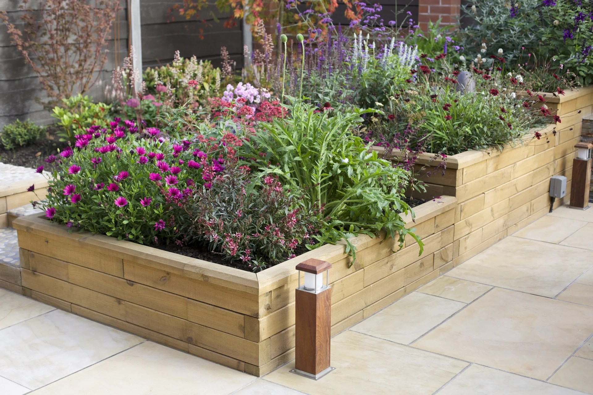 Using Railway Sleepers For Raised Vegetable Beds Woodblocx Woodblocx