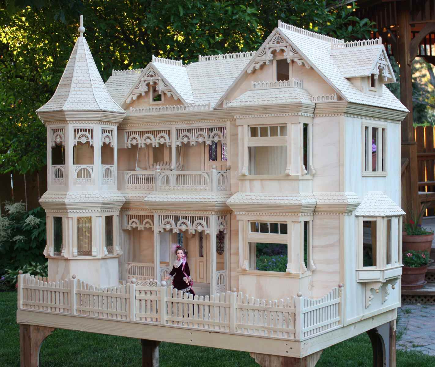 Barbie House Design Victorian Dollhouse Woodchuckcanuck